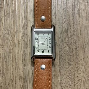 Timex Women's T2N905 Bristol Park Leather Watch